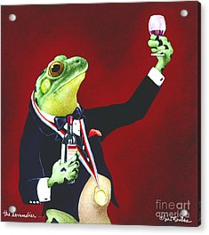 The Sommelier... Acrylic Print
