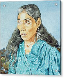 The Soothsayer, 1986 Oil On Canvas Acrylic Print