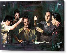 The Sopranos Acrylic Print