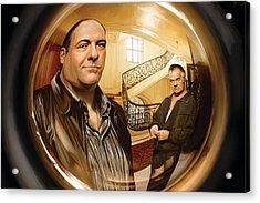 The Sopranos  Artwork 1 Acrylic Print by Sheraz A