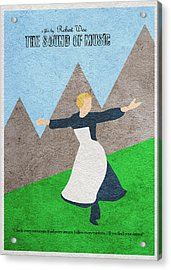 The Sound Of Music Acrylic Print by Ayse Deniz