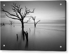The Sound Of Silence Acrylic Print by Bernard Chen