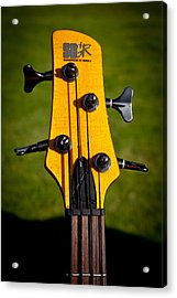 The Soundgear Guitar By Ibanez Acrylic Print by David Patterson