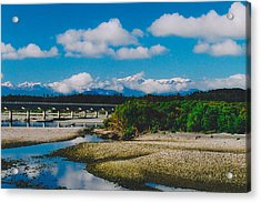 The Southern Alps Acrylic Print by Jon Emery