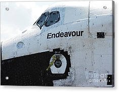 The Space Shuttle Endeavour 2 Acrylic Print by Micah May