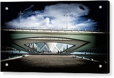 The Spaceship Acrylic Print by Herbert Seiffert