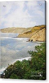 The Spanish North Coast Acrylic Print by Mary Machare