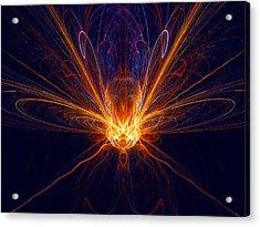 The Spectacular Digital Firefly Acrylic Print