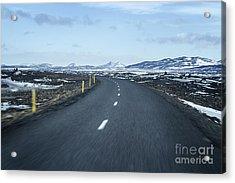 The Speed I Need Acrylic Print by Evelina Kremsdorf