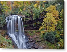 The Spendor Of Highlands Dry Falls Acrylic Print by Mary Anne Baker