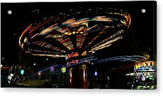The Spin Acrylic Print by Jp Grace