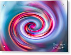 The Spiral Acrylic Print by Hannes Cmarits