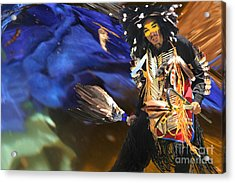 The Spirit From Above Acrylic Print by Angelika Drake