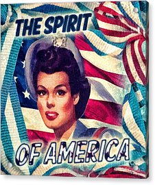 The Spirit Of America Acrylic Print by Mo T