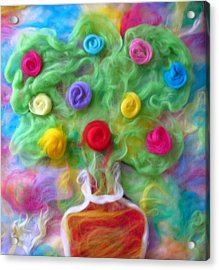 The Spirit Of Cider Acrylic Print by Natalia Levis-Fox