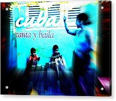 The Spirit Of Cuba And Cubans  Acrylic Print by Funkpix Photo Hunter