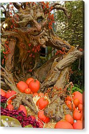 The Spirit Of The Pumpkin Acrylic Print