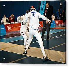 The Sport Of Fencing 1 Acrylic Print