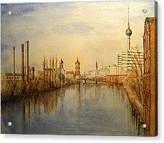The Spree Berlin Acrylic Print