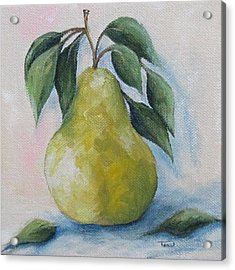 The Spring Pear Acrylic Print by Torrie Smiley