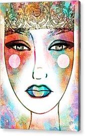 The Spring Queen Acrylic Print