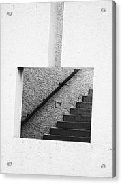 The Stairs In The Square Acrylic Print