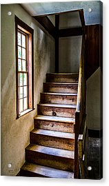 The Stairs Acrylic Print by Karol Livote