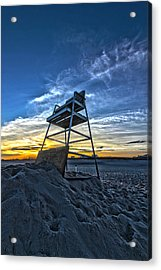 The Stand At Sunset Acrylic Print