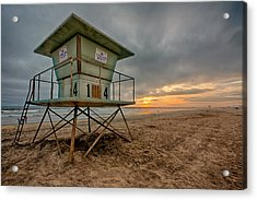 The Stand Acrylic Print by Peter Tellone