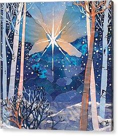 The Star Acrylic Print by Robin Birrell