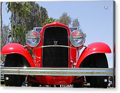 Acrylic Print featuring the photograph The Stare Of A V8 by Shoal Hollingsworth
