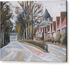 The Statensingel In Maastricht Acrylic Print