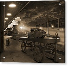 The Station 2 Acrylic Print by Mike McGlothlen