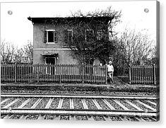The Station Of Castelferro Acrylic Print