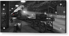 The Station - Panoramic Acrylic Print by Mike McGlothlen