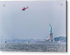 The Statue Of Liberty Acrylic Print