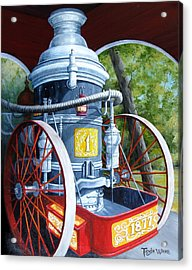 The Steamer Acrylic Print by Tanja Ware