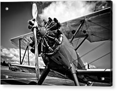 The Stearman Biplane Acrylic Print