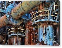 The Steel Mill Acrylic Print