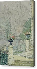 The Steps Of Les Fourneaux At Melun Acrylic Print