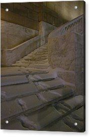 The Steps Out Of Sight Acrylic Print by Guy Ricketts