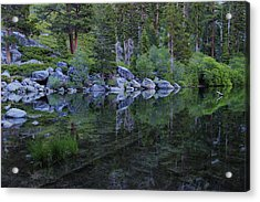Acrylic Print featuring the photograph The Stillness Of Dawn  by Sean Sarsfield