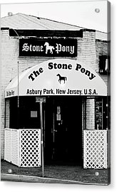 The Stone Pony Asbury Park Nj Acrylic Print