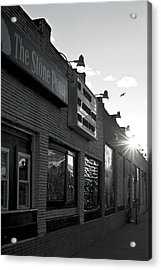 The Stone Pony Asbury Park Side View Acrylic Print