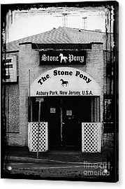The Stone Pony Acrylic Print by Colleen Kammerer