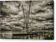 The Storm Acrylic Print by Steven  Taylor