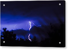 The Storm That Saved A Town From A Fire Acrylic Print