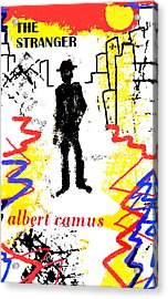 The Stranger Albert Camus Poster Acrylic Print