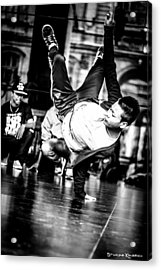 Acrylic Print featuring the photograph The Street Dancer by Stwayne Keubrick