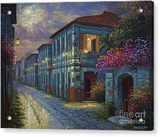The Street We Used To Know Acrylic Print